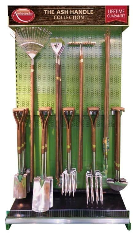 Ambassador Garden Tool Stand (only)
